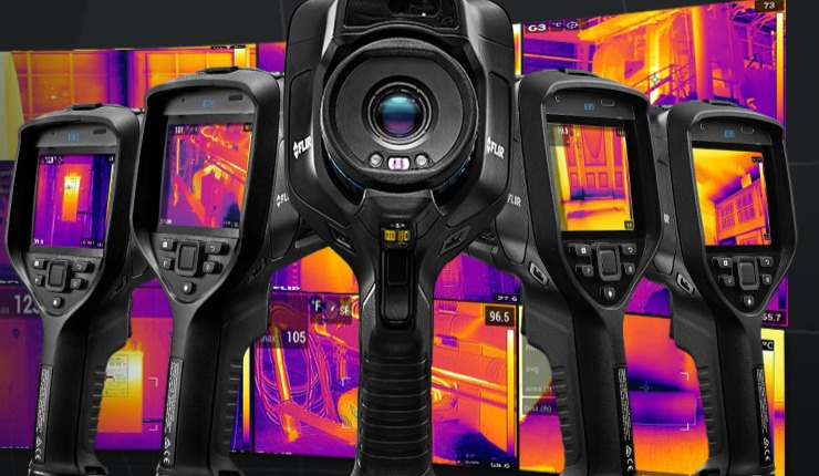 FLIR-Exx Advanced Thermal Imaging Cameras for Building Applications