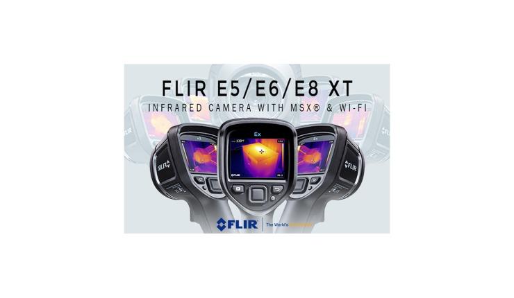 New Flir Ex-XT Infrared Camera With MSX & WI-FI