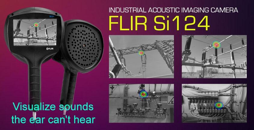 FLIR Si124 - INDUSTRIAL ACCOUSTIC IMAGING CAMERA